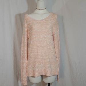 Old navy ombre sweater peach color M size